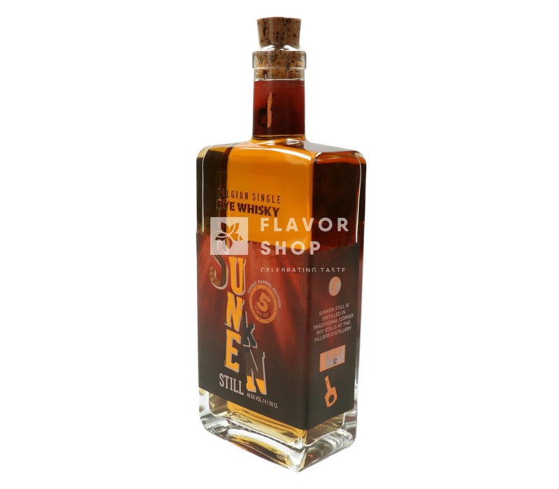 Sunken Still Belgian Rye Whisky 5Y