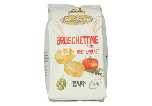 Bruschettine Mediterraneo