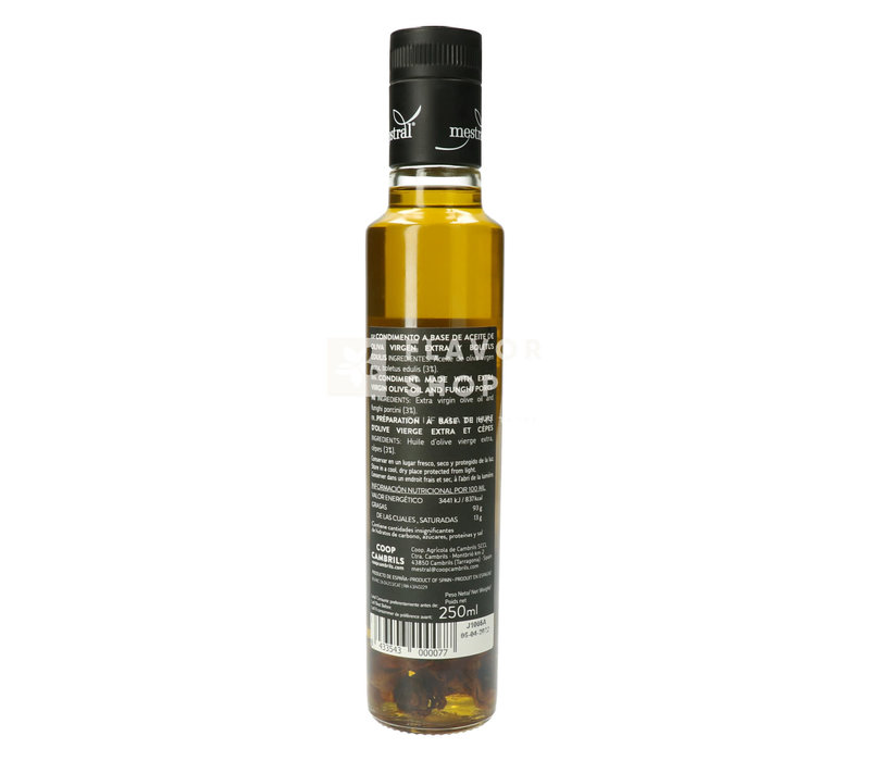 Extra Vierge Olijfolie met cèpes 250 ml Mestral