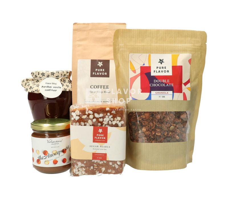 Flavor Moments: Ontbijtpakket met koffie