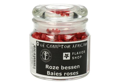 Le Comptoir Africain x Flavor Shop Roze peperbessen