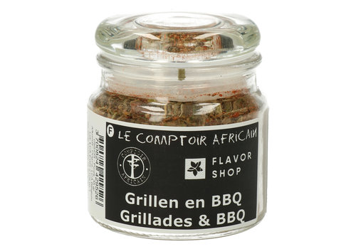 Le Comptoir Africain x Flavor Shop Grill- & Barbecuekruiden