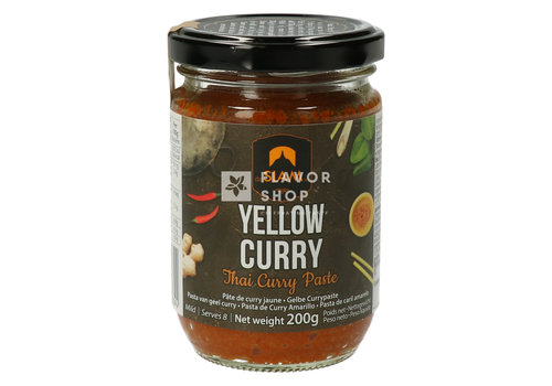 deSIAM Pâte de curry jaune en sachet 200 g