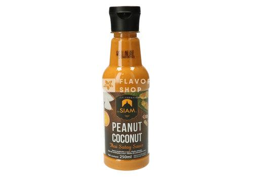 deSIAM Peanut Coconut Satay Sauce 250ml