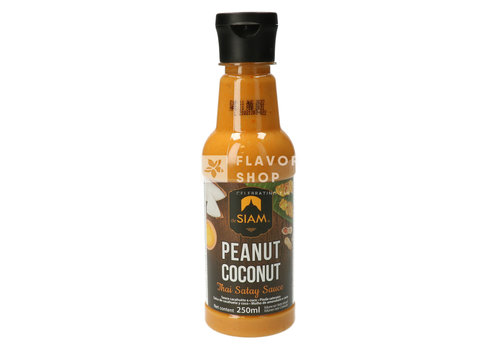 deSIAM Peanut Coconut Satay Sauce