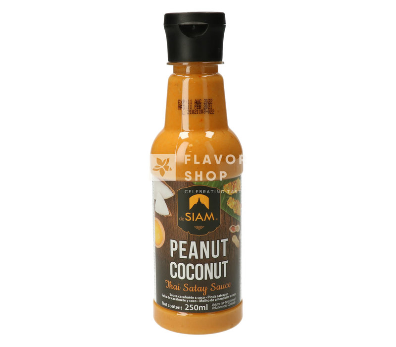 Peanut Coconut Satay Sauce 250ml