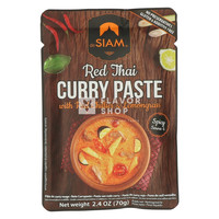 Rode Currypasta in pouch 70 g