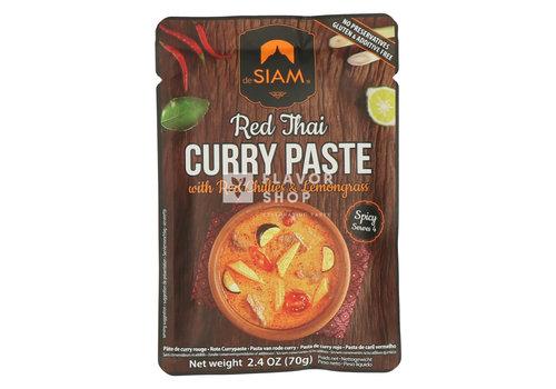 deSIAM Pâte de curry rouge en sachet
