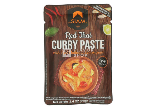 deSIAM Rode Currypasta in pouch