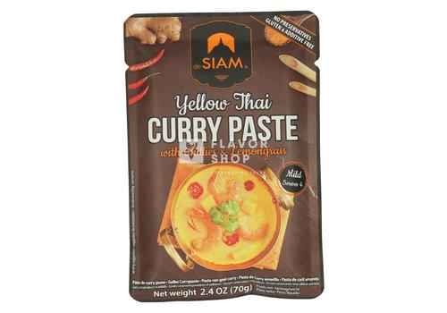 deSIAM Pâte de curry jaune en sachet