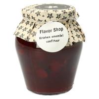 Confiture de cerises et d'amandes 375 ml