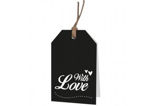 With love Carte de voeux