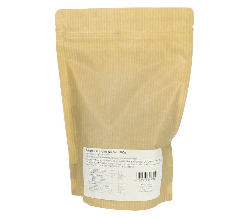 Spicy Granola Curcuma & Quinoa 300 g