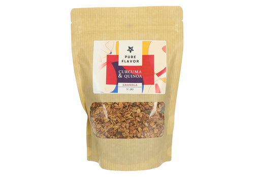 Pure Flavor Spicy Granola Curcuma & Quinoa 300 g*