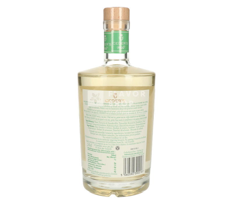 Ceder's Wild Alcoholvrije Gin
