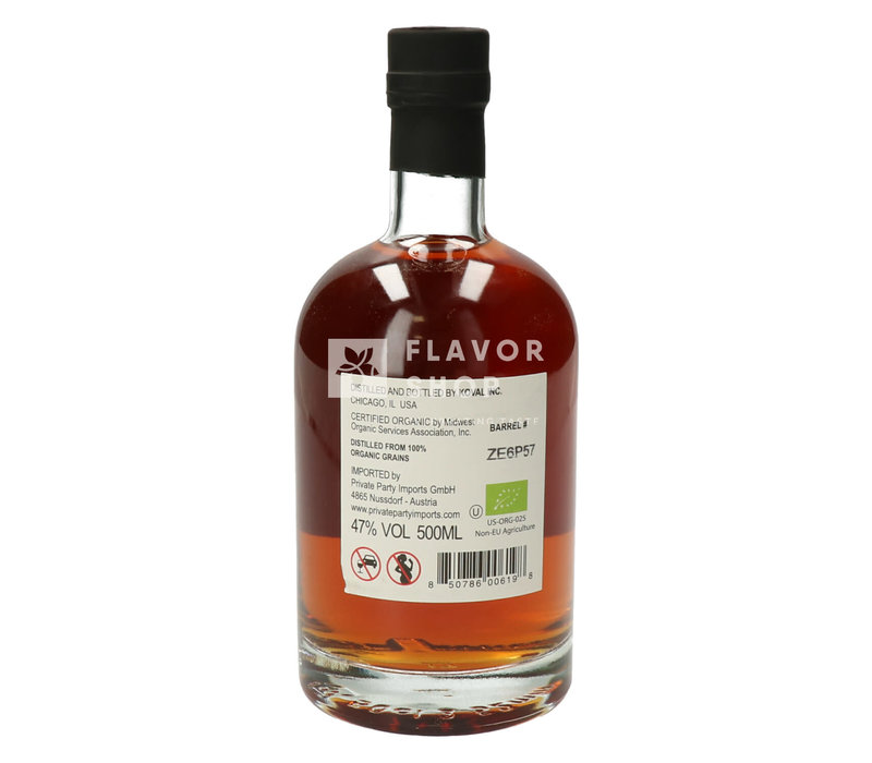Koval Bourbon Whiskey - 50 cl