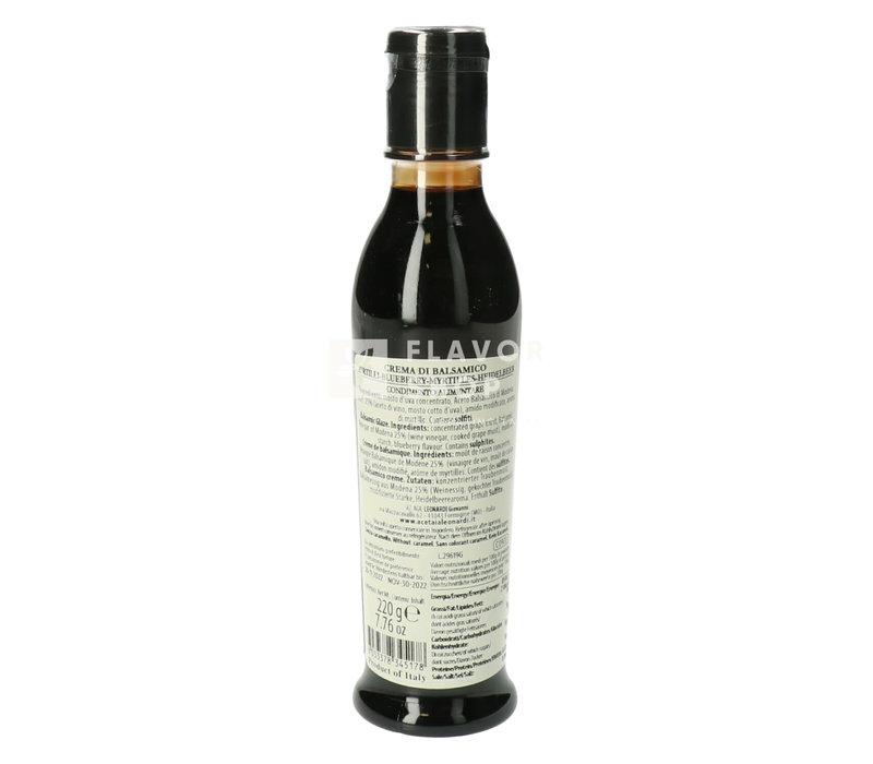 Crema di Balsamico met bosbes 220 g