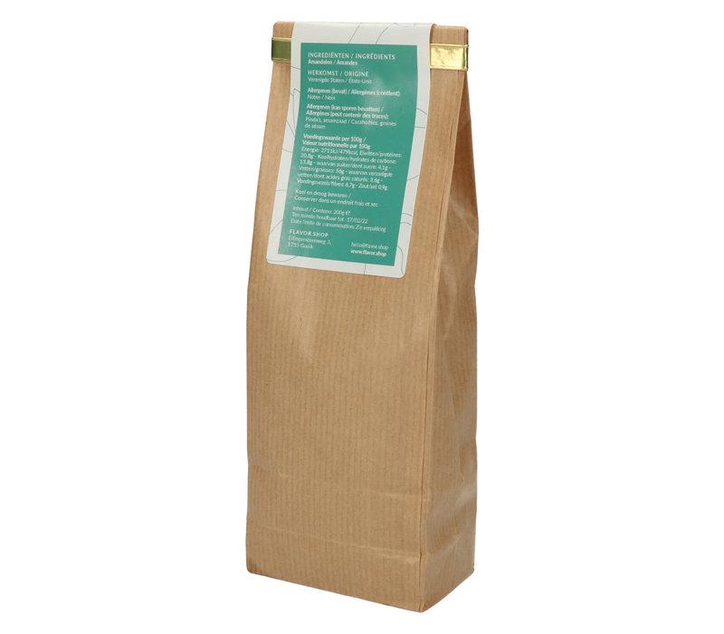 Gerookte amandelen gezouten 200 g