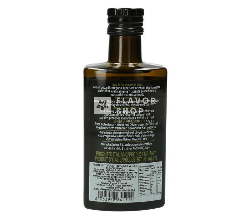 Huile d'Olive Extra Vierge Fruité Intense 250ml - Muraglia