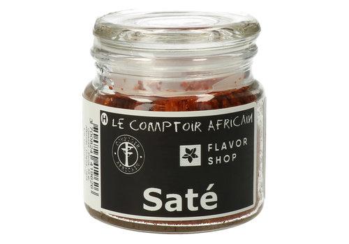Le Comptoir Africain x Flavor Shop Satékruiden