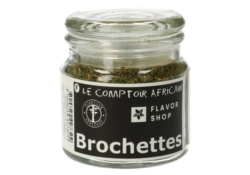 Le Comptoir Africain x Flavor Shop Brochettemix