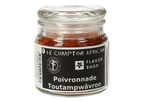 Le Comptoir Africain x Flavor Shop Poivronnade - Paprikamengeling