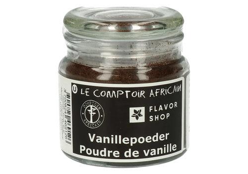 Le Comptoir Africain x Flavor Shop Vanille gemalen