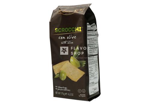 Laurieri Scrocchi con olive