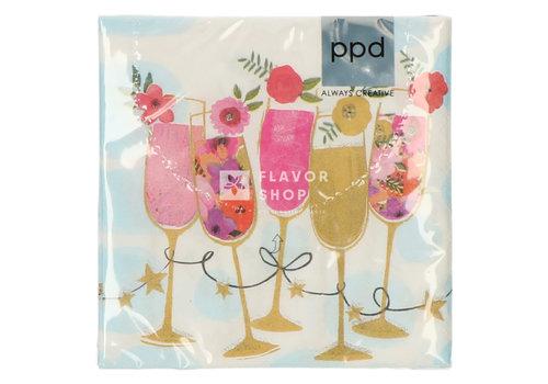 PPD Servietten Happy Drinks