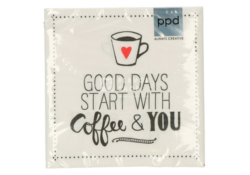 PPD Servietten Coffee and you