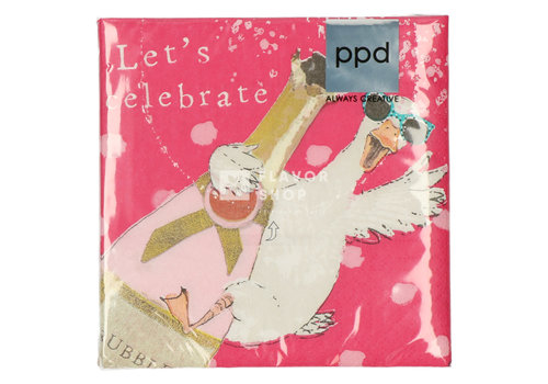 PPD Servietten Let's Celebrate