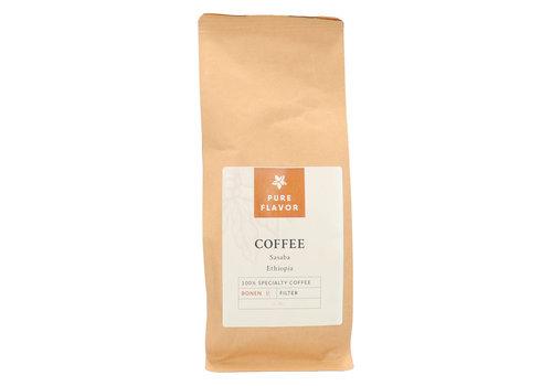 Pure Flavor Sasaba Koffie BONEN 250 g Flavor Shop Nr 366