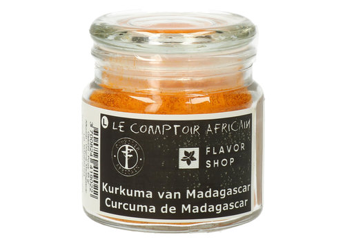 Le Comptoir Africain x Flavor Shop Kurkuma gemalen