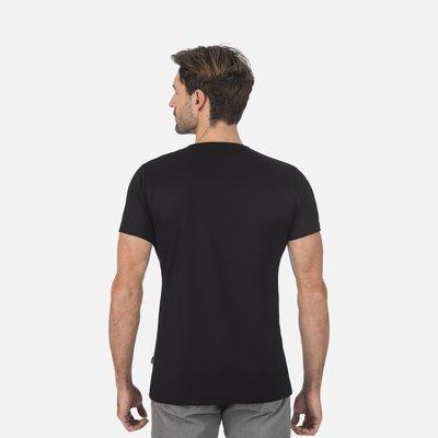 Trigema 100% Tencel T-shirt met v-hals uniseks