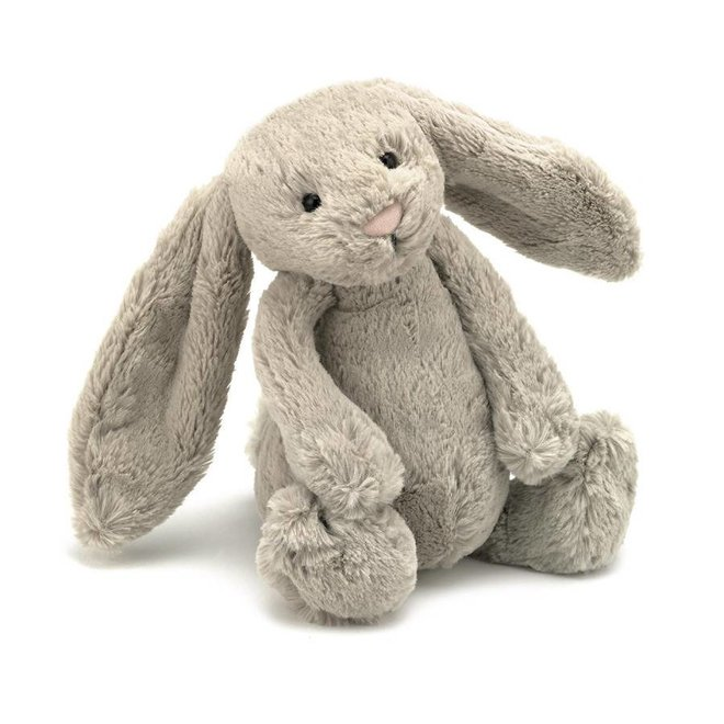Knuffel beige konijn klein