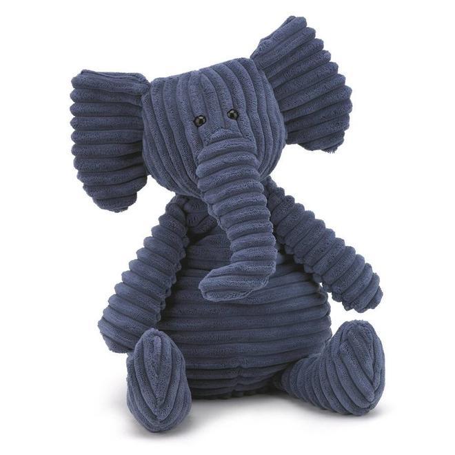 Knuffel olifant fluweel