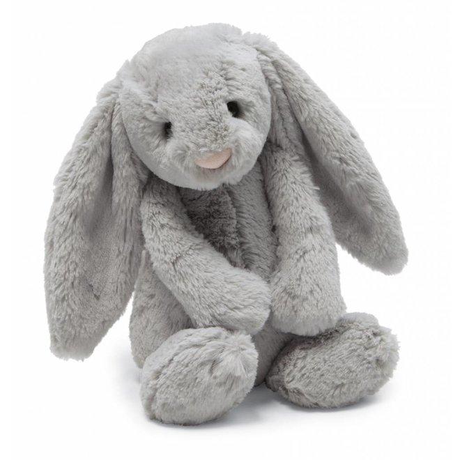 Knuffel grijs konijn