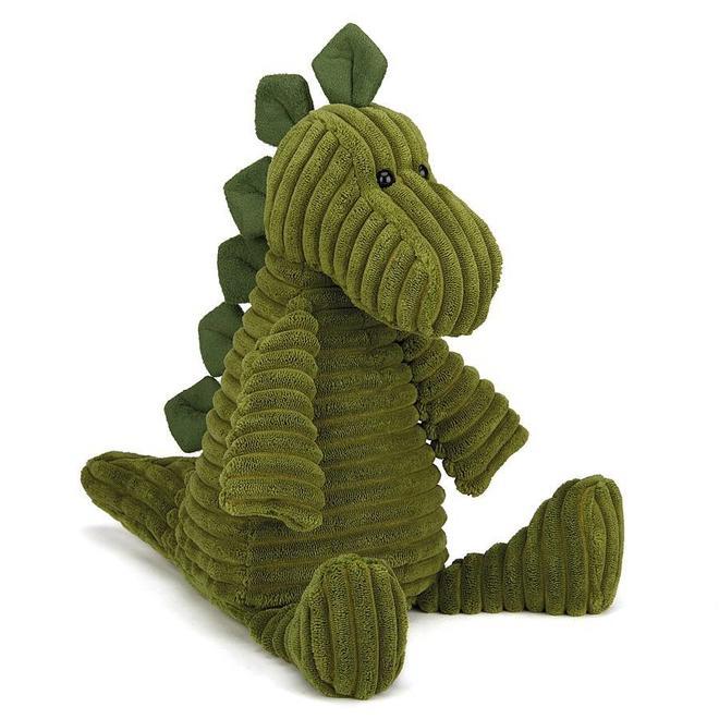 Knuffel dinosaurus fluweel