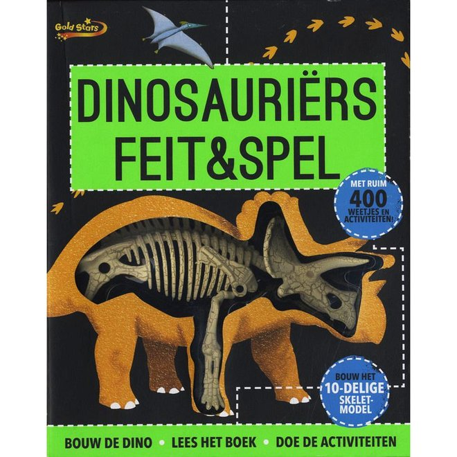 Feit & Spel dinosaurus kit