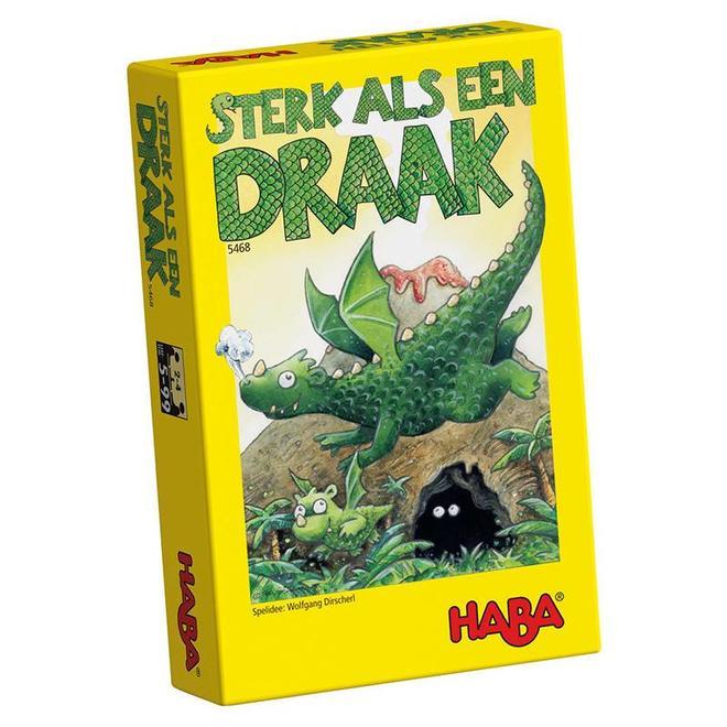Sterk als een draak - Geheugenspel 5+