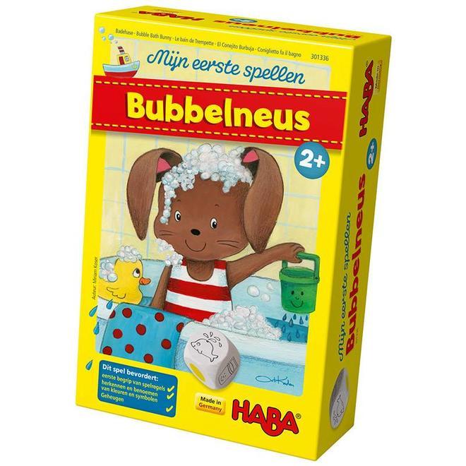 Mijn eerste spellen - Bubbelneus 2+