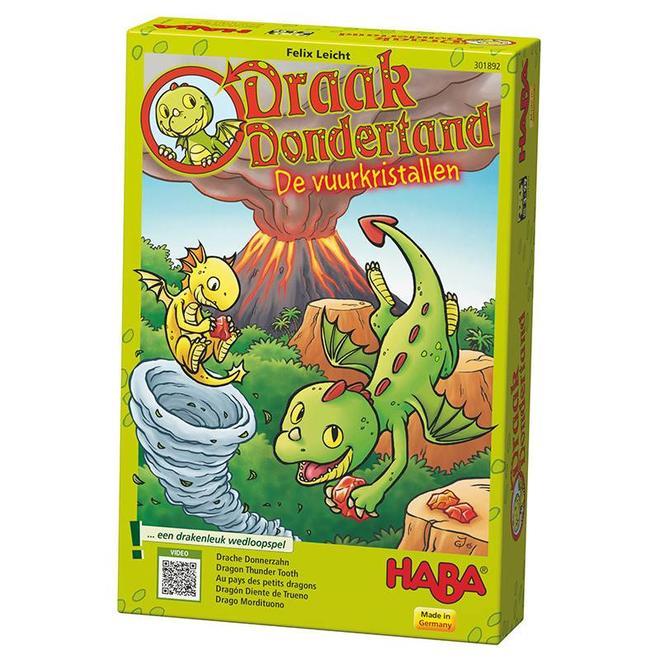 Draak Dondertand - De vuurkristallen 3+
