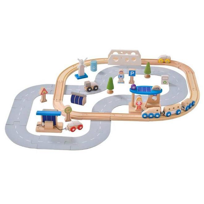 Ecological city train set