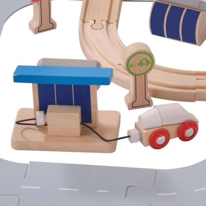 EverEarth Ecological city train set
