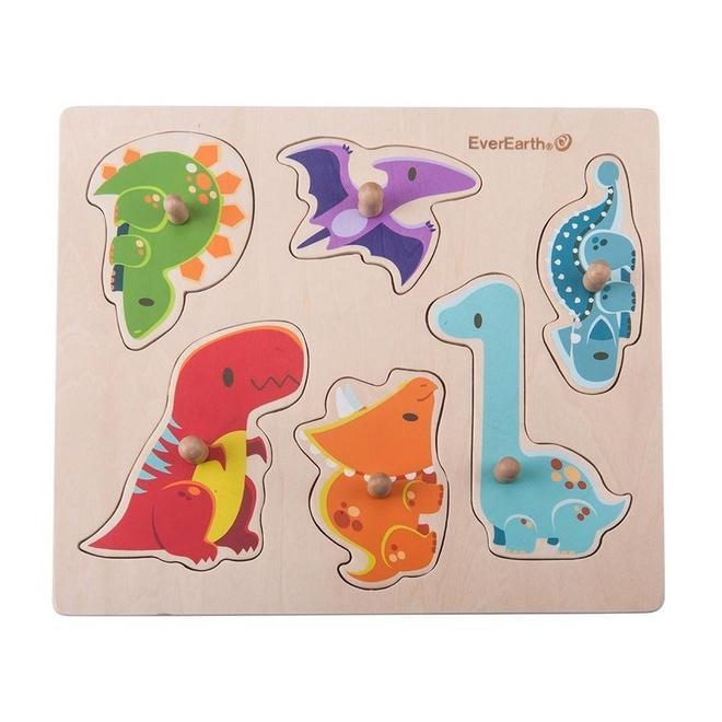 EverEarth Dinosaurus puzzel