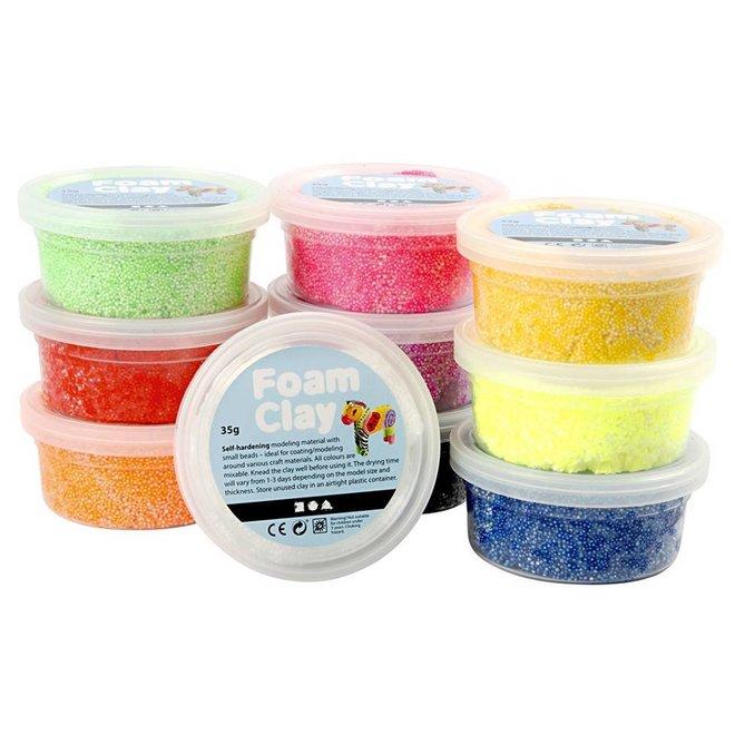 Foam Clay basis pakket (10st)