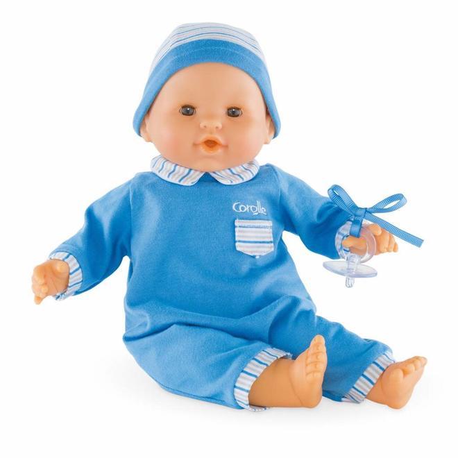 Babypop jongen blauw (36cm)