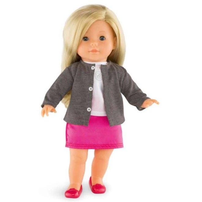 Ma Corolle Vest donkergrijs (voor pop met haar)