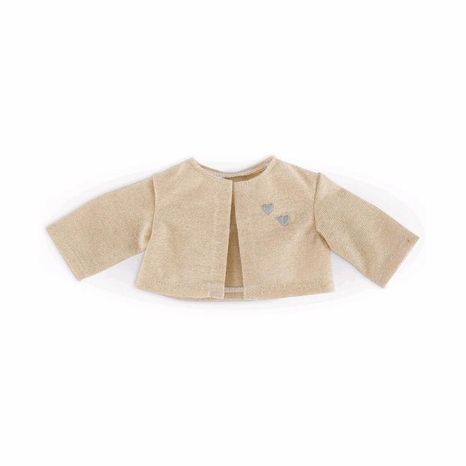 Vest goud (voor pop met haar)