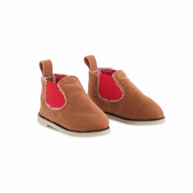 Chelsea boots (voor pop met haar)